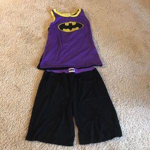 Other - Summer pajamas with Batman logo